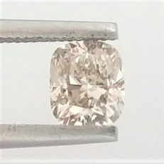 Cushion Cut  - 0.83 carat  - H color - VS1 clarity  - Natural Diamond  Comes With AIG Certificate + Laser Inscription