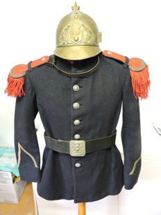 rare firefighter uniform model 1885-1895