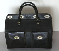 Camel leather doctor bag