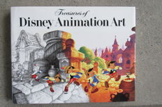 Disney, Walt - Treasures of Disney Animation Art - deluxe hc - 1st edition (1982)