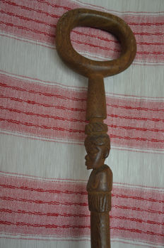Tribal chief wooden stick - Ngoni - Malawi