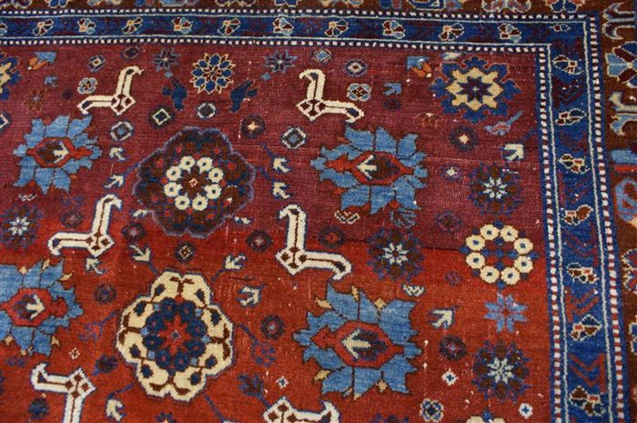 Handwoven antique and rare Kazak carpet, approx. 100 years in age and over 640,000 knots per square metre, approx. 157 x 130 cm, freshly cleaned