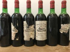 1978 Château Tayac, Margaux Cru Bourgeois  - Total 6 Bottles