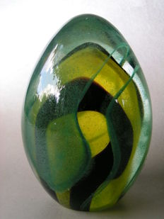 Seguso Viro - Paperweight signed and labelled