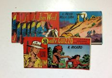 Jim West and Bwana Jim - batch of 7x strips (1956-57)