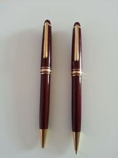 Pair of Montblanc pen and mechanical pencil