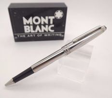 Rollerball Pen MONTBLANC Solitaire Steel & Palatinum Plated Trims