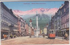 very good lot of 60 old postcards of trams of Europe