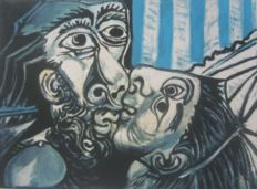Pablo Picasso (after) - The Kiss