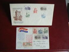 The Netherlands 1951 - FDC Summer - NVPH E5 plus Phillips card