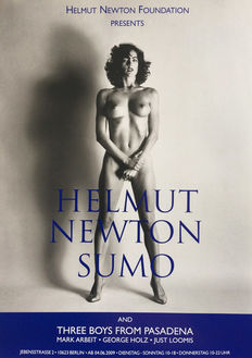 Helmut Newton - 3x Helmut Newton Foundation Berlin - 2009/2011