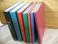 Central and South America - batch in 7 stock books