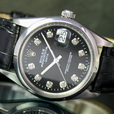 1981s Rolex Oyster Perpetual Quick Date Automatic Men's  15000