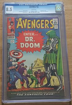 Marvel Comics - Avengers #25 - CGC Graded 8.5 - (Feb 1966)