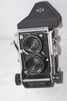 vintage 6x6 camera MAMIYA C 3 with 105 mm 3.5 lens finder pentaprizm  Professional Camera