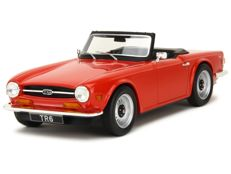 LS Collectibles - Schaal 1/18 - Triumph TR6 - Rood