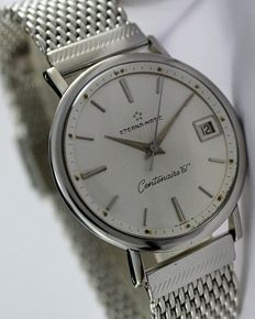Eterna-Matic Centenaire 61 Men's Vintage Wristwatch - circa 1960s