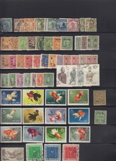 China 1897/1990 - Series and a lot of stamps