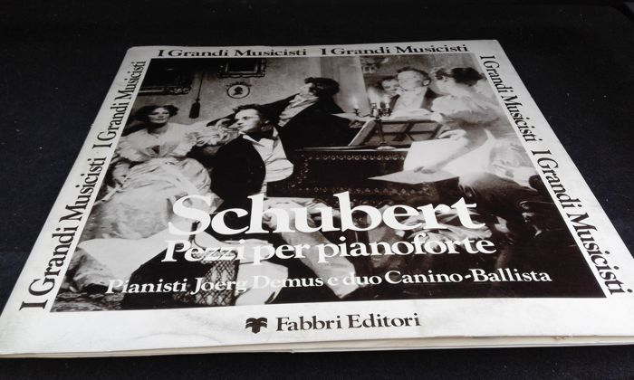 Lp 33 laps in excellent condition Schubert Pieces Piano Pianists Joerg Demus and Duo Canino Ballista-Lp 33 laps in excellent condition Koichi Ok--i --Le Quattro Stagioni-Vivaldi -Lp 33 laps in excellent condition Concert InLp 33 laps in excellent conditio