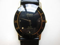 Chatex ref. 2006 18 kt gold-plated - men's wristwatch - 1980s