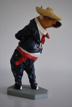 Cow Parade - aARTvarks: Conni Brenner & Wendy Carter -  type Vaca Folklorico (male)/ Toro Foklorica -medium - Retired
