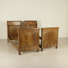 Pair of beds - Italy - mid 19th century