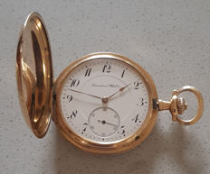 36. International Watch Co Schaffhausen - double casing pocket watch - circa 1900