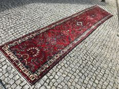 Unique Persian Hand knotted  Made in Iran -LILIAN 412x90 cm