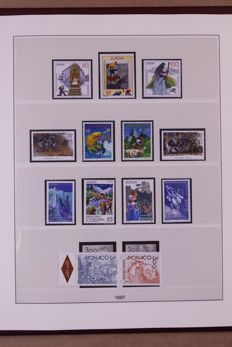 Europa Stamps 1997/1999 - Complete collection in Lindner Falzlos T-type preprint album