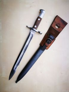 Swiss bayonet M1889 Maschinenfabrik Bern for Schmidt Rubin (first model - the oldest of the family)