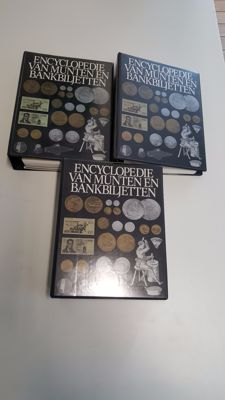 Encyclopedia of coins and banknotes, parts 1, 2 and 3.