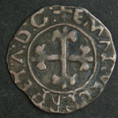 Portugal – ½ Vintém in SILVER – Manuel I – 1495-1521 – Lisbon – AG: Not Catalogued - Sublime Condition - Rarity - May be Unique - See Description