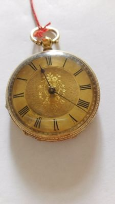Unbranded pocket watch from 1890