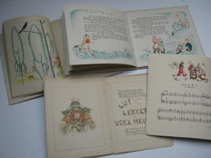 Youth; Lot with 4 illustrated children's books - 1915 / 1949