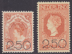 The Netherlands 1920 – Clearance issue – NVPH 104/105