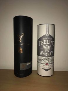 2 bottles - Teeling Brabazon Bottling Series 1 & Glenfiddich Experimental Series - Project XX