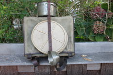 French whip, kettle and bucket, France