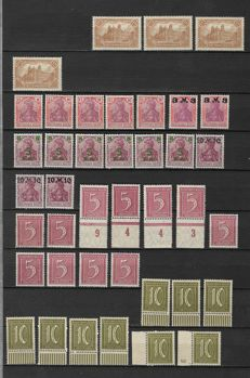 German Empire 1920/1945   Selection between Michel 114/908