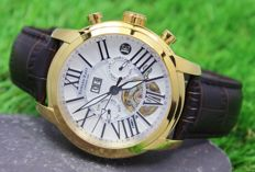 Edward East – Men's - Gold Plated - Automatic Watch - Unworn