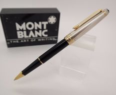 Rollerball Pen Classique MONTBLANC Solitaire Doue Silver & Black resin