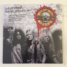Lots Of 3 Live Albums, 2 LP Guns N' Roses ‎– California Radio Broadcast - Live At The Perkins Palace, Pasadena December 1987 - FM Broadcast Limited to 500 Copies,  2 Lp Aerosmith - Live At the Civic Centre, Hampton, Va - November 16, 1987 180 Grams, 2 Lp