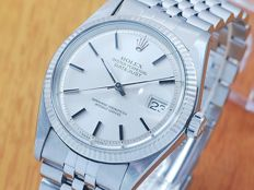 Rolex 1601 18K White Gold & S/S DateJust Automatic Watch!