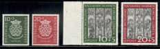 Federal Republic of Germany 1949-55 without Mi. no. 132-38 all MNH, Michel no. 111-226