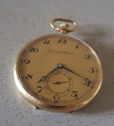34. International Watch Co Schaffhausen - pocket watch Art Deco - around 1925