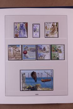 Israel 1999/2006 - Complete collection full-tab in Lindner Falzlos T-type preprint album