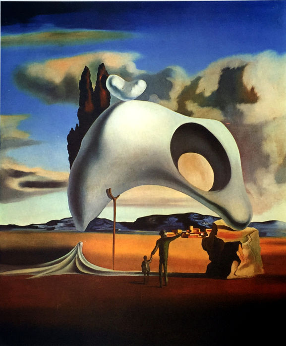 Salvador Dalí (after) - Atavistic Vestiges After the Rain
