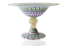 "Amedeo Rossetto (Eugenio Ferro & Co.) - Collectable ""Mosaico"" centrepiece (37 cm)"