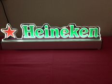 Heineken - Beautiful illuminated advertising sign in working condition - 21st Century.