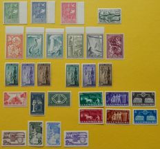 United Europe Precursors 1949/1956 - 8 complete issues.