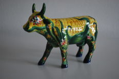 Cow Parade - Brian Beck - type Corn the Cow - medium - Retired